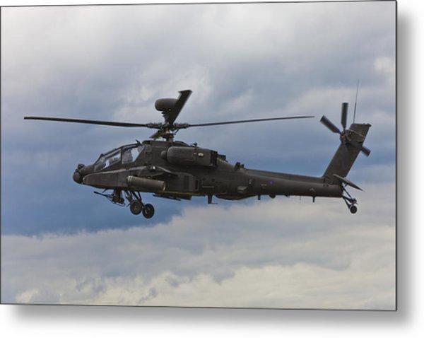 Apache Power Metal Print