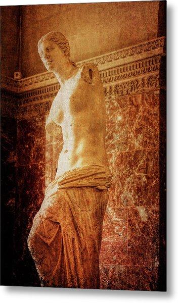 Aphrodite Of Milos Metal Print by JAMART Photography