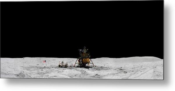 Apollo 16 Landing Site Panorama Metal Print