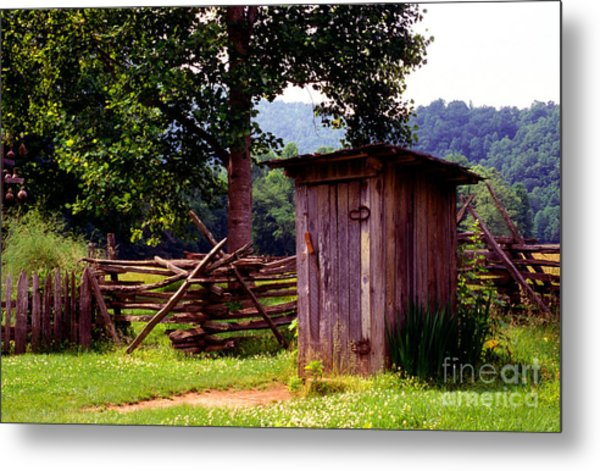 Appalachian Hill-ton Metal Print