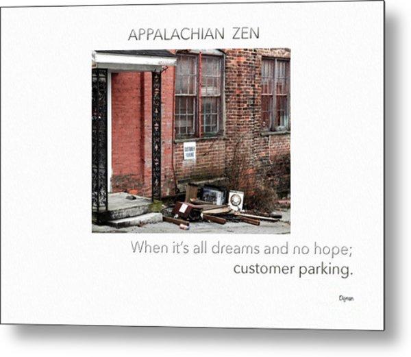Appalachian Zen Metal Print by Steven Digman