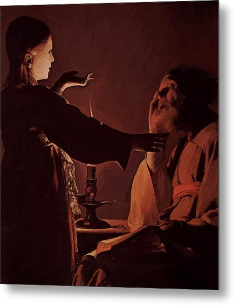 Appearance Of Angel To St Joseph Also Called The Song Of St Joseph Metal Print