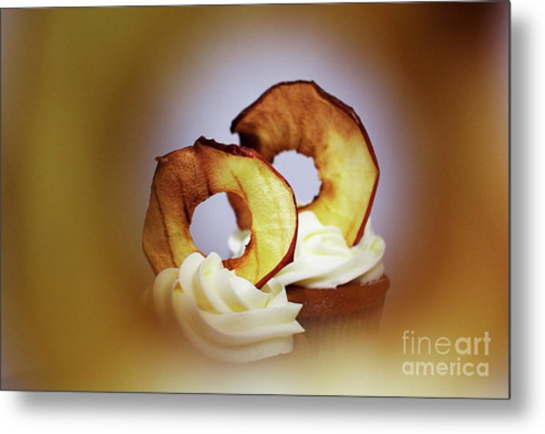 Apple View Metal Print