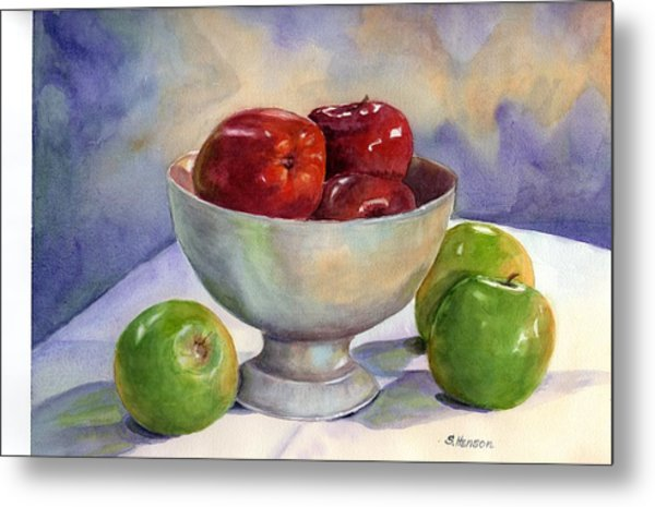 Apples - Yum Metal Print