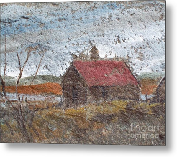 Approaching Storm Metal Print by Norman F Jackson