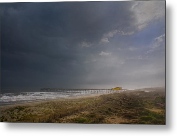Approaching Thunderstorm Metal Print by Andreas Freund