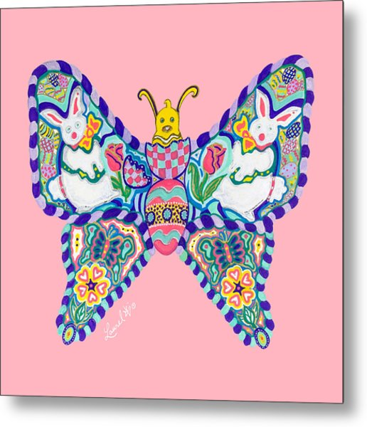 April Butterfly Metal Print