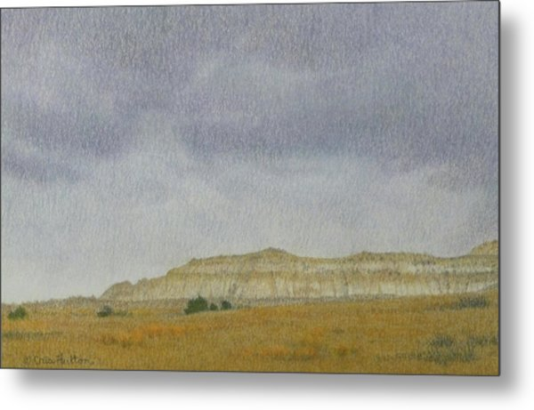 April In The Badlands Metal Print