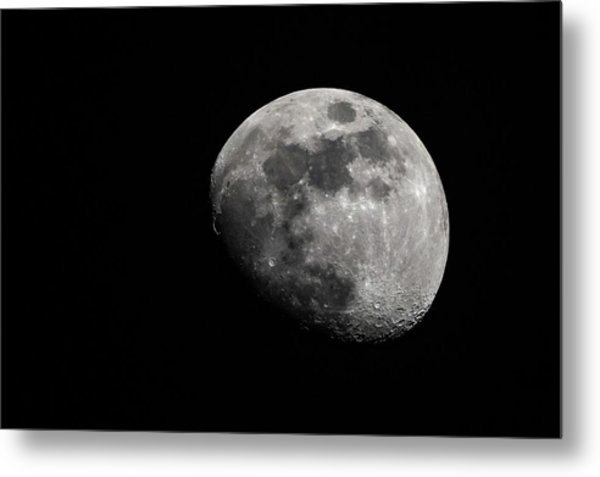 Metal Print featuring the photograph April Moon 2018 by Philip Rodgers