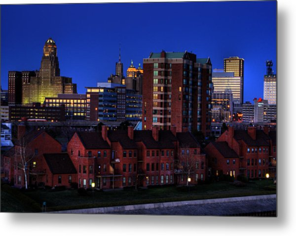 April Nighttime Metal Print by Don Nieman