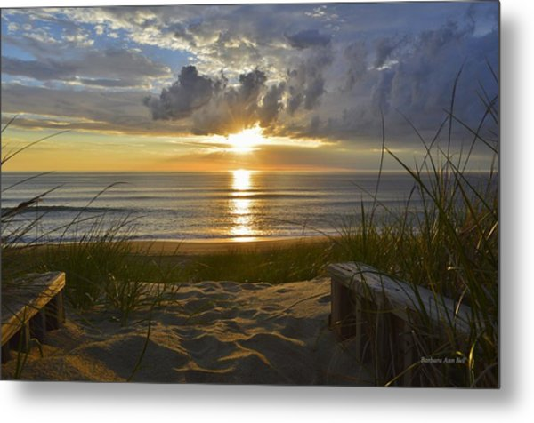 April Sunrise In Nags Head Metal Print