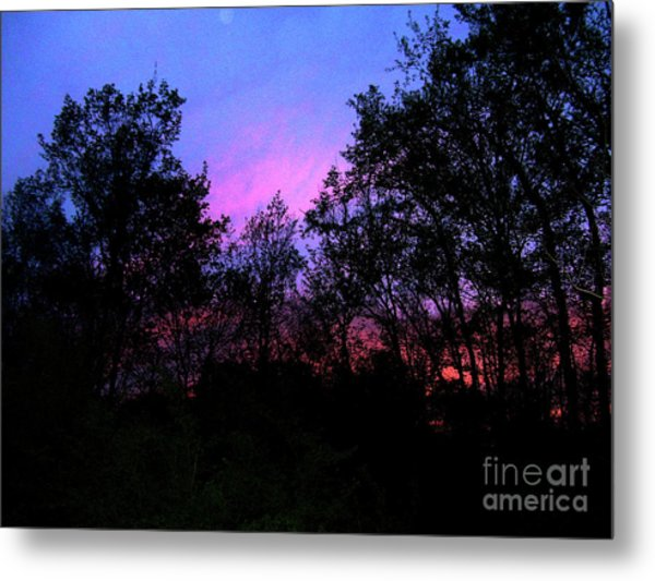 April Sunset Metal Print