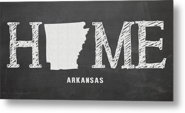 Ar Home Metal Print