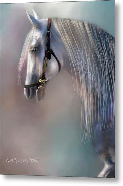 Arabian Grey Metal Print