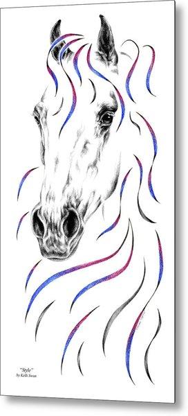 Arabian Horse Style Metal Print