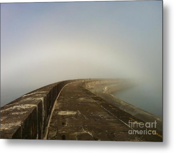Arc Of Light Metal Print by Jason Christopher