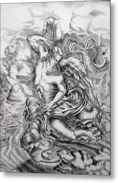 Arch Angel Metal Print