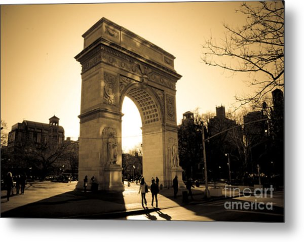Arch Of Washington Metal Print