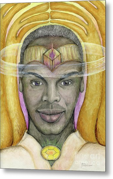 Archangel Raphael Metal Print
