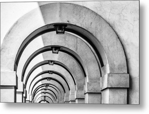 Arches At The Arno Metal Print
