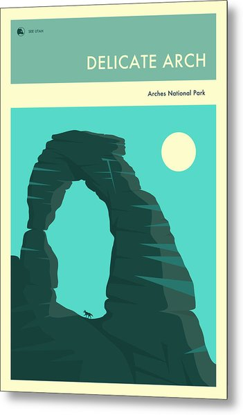 The Delicate Arch Metal Print