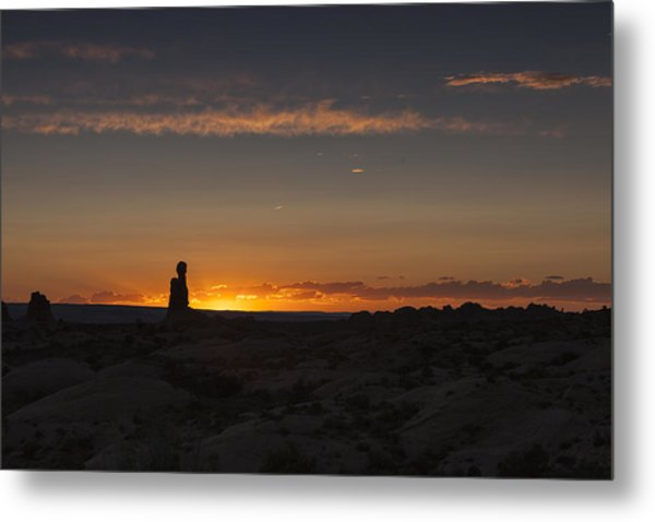 Arches National Park Sunset Metal Print