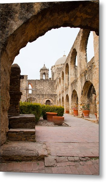 Arches Of Mission San Jose Metal Print