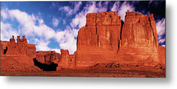 Metal Print featuring the photograph Arches Pano by Norman Hall