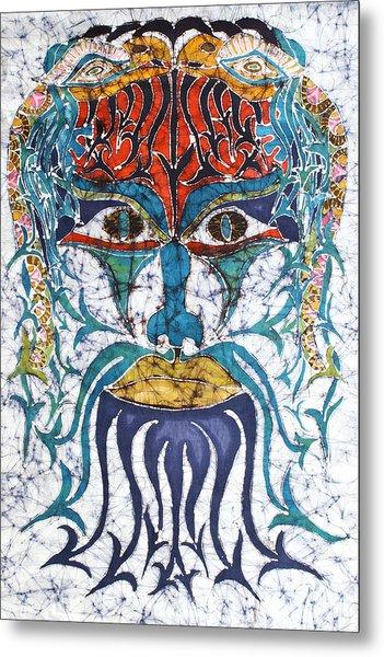Archetypal Mask Metal Print