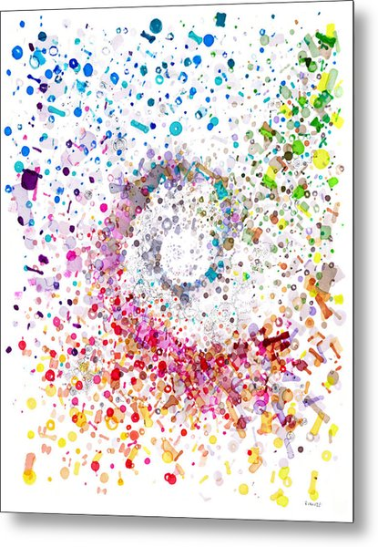 Archimedes Chiral Metal Print