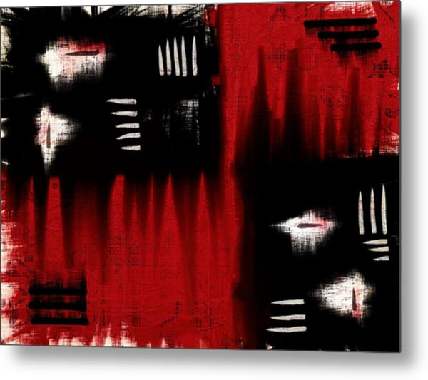 Architectonic Dimension Metal Print
