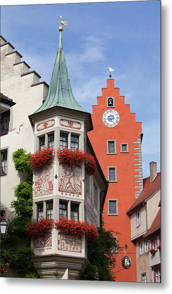 Architectural Details In Old City Metal Print
