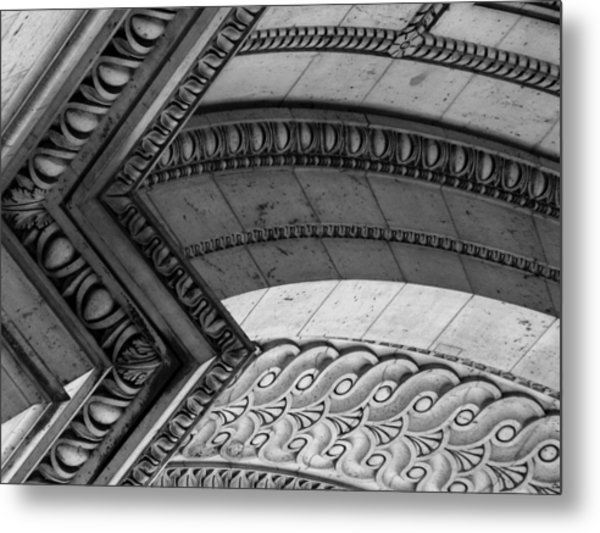 Architectural Details Of The Arc Metal Print