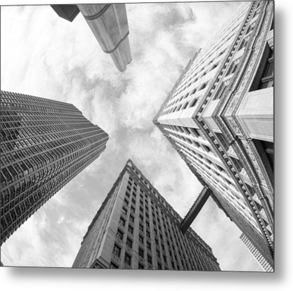 Architectural Perspective Metal Print