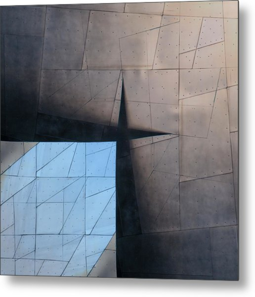 Architectural Reflections 4619a Metal Print