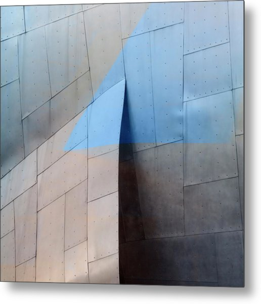 Architectural Reflections 4619h Metal Print