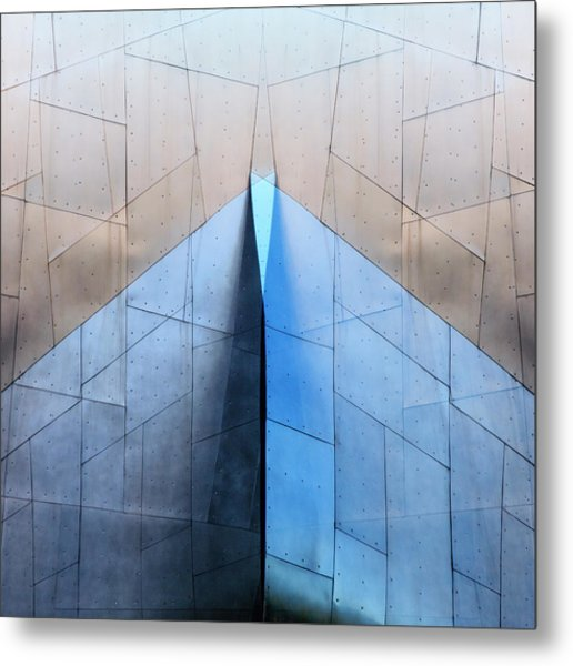 Architectural Reflections 4619l Metal Print