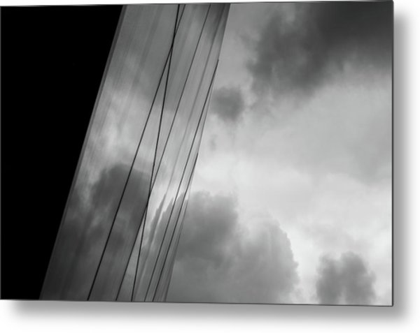 Architecture And Immorality Metal Print