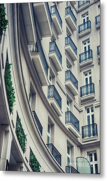 Architecture Background  Metal Print
