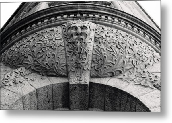 Archway In Old Montreal Metal Print by Henry Krauzyk