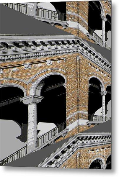 Archways Metal Print