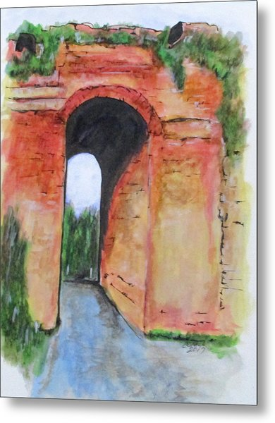 Arco Felice, Revisited Metal Print