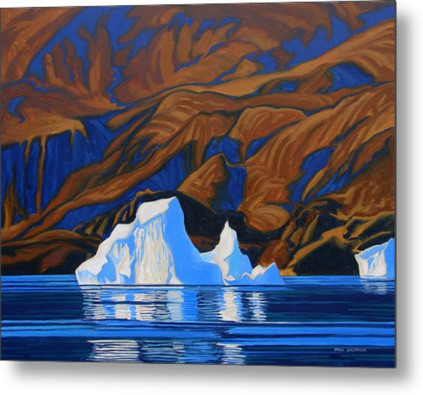 Arctic Tapestry Metal Print by Paul Gauthier