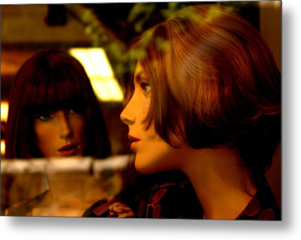 Are You Sure He Said That Metal Print by Jez C Self