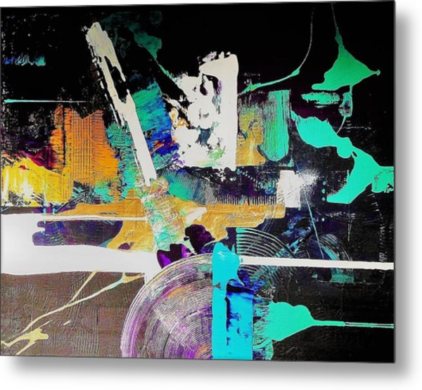 Areas Of Doubt And Uncertainty Metal Print