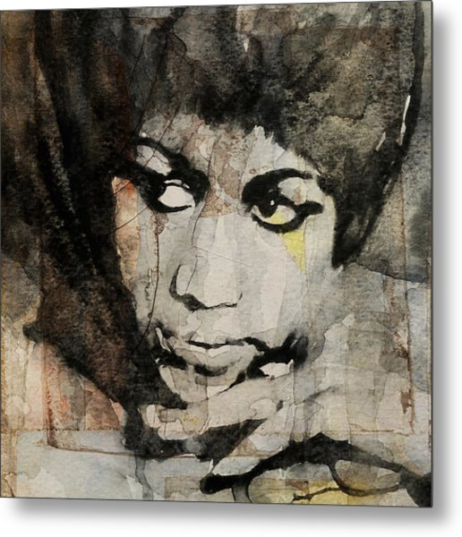Aretha Franklin - Don't Play That Song For Me  Metal Print