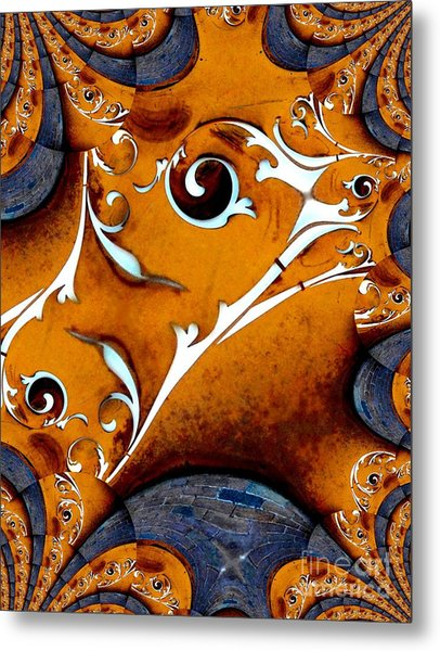 Arfully Inclined Metal Print