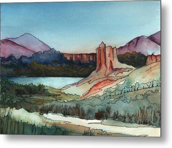 Arizona Hills Metal Print by Robynne Hardison