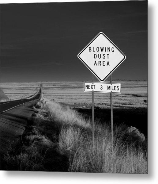 Arizona Road Metal Print