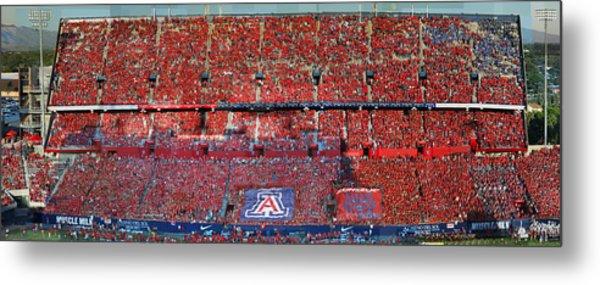 Arizona Stadium Triptych Part 1 Metal Print by Stephen Farley